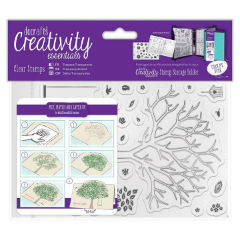 Akrylové pečiatky Creativity Essentials – Build a Tree / sada 30 ks