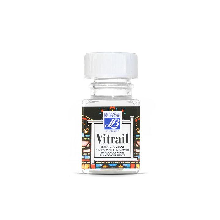Farba na sklo VITRAIL 50ml - Covering White ee8261b10f1